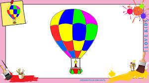 Dessin Montgolfiere Comment Dessiner Une Montgolfiere Facilement