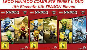 LEGO NINJAGO COMPLETE SERIES 11 DVD 11th Eleventh 11th SEASON Eleven New UK  Comp