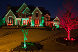 color changing lights house