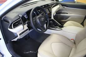 toyota camry leather seat elegant 2018 used toyota camry le automatic at wolfchase toyota serving photos