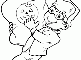Small Picture Halloween Coloring Pages Print 24 Free Printable Halloween
