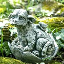 dragon garden statues lawn statue and little chinese stat cast stone large outdoor fantasy dragon statue