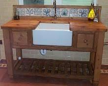 belfast sink in free standing pine unit belfast sink belfast