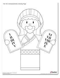 10 Commandments Coloring Pages Inspirational Stock 10 Mandments