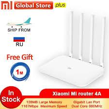 Xiaomi <b>Mi Router 4A</b> Gigabit Edition 100M 1000M 2.4GHz 5GHz ...