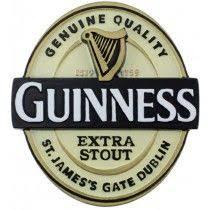 guinness resin magnet label guinness gles guinness gifts pub logo refrigerator magnets