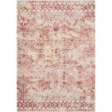 empire red marrakesh 8 ft x 11 ft vintage area rug
