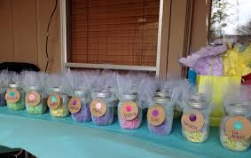 Decorating Mason Jars For Baby Shower Baby shower mason jar party favors BabyshowerS Pinterest 72