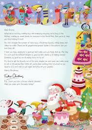 Nspcc Letter From Santa Christmas Baking 2015 Https Www