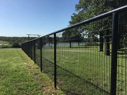 black welded wire fence. Perfect Welded Pipe Fence With Welded No Climb Fence Painted Black In Welded Wire Fence E