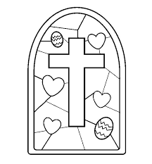 Religious Easter Coloring Pages Printable At Getdrawingscom Free