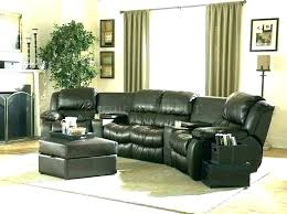 leather reclining sectionals sectional couch with recliner sofa and sleeper sofas recliners black for genuine