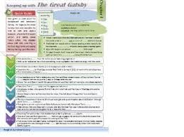 great gatsby sample essay student response by kb  the great gatsby plot revision