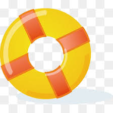 pool ring clipart. Interesting Ring Yellow Swim Ring Hand Painted Lifebuoy Yellow PNG Image And Clipart In Pool Ring