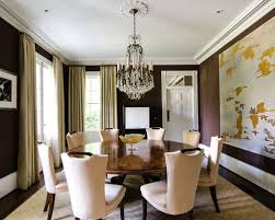 round dining room table images. traditional dark wood floor enclosed dining room idea in atlanta with brown walls round table images