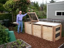 New Compost Bins Virtual Garden Tour