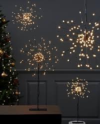Details Zu Led Firework Standstern Stehleuchte Hängestern Schwarz Silber Fensterdeko