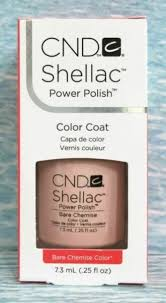 <b>CND Shellac</b> Bare Chemise <b>Intimates</b> Collection Fall 2013 .25 Oz ...