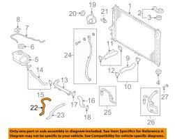chevrolet gm oem 04 08 aveo 1 6l l4 radiator heater hose 95211458 22 on diagram only genuine oe factory original item