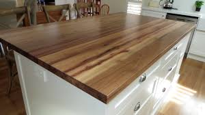 solid timber benchtops
