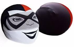 harley quinn helmet cover motorcycle full face skin street sport