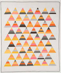 candy corn quilt | Triangle Quilts | Pinterest &  Adamdwight.com
