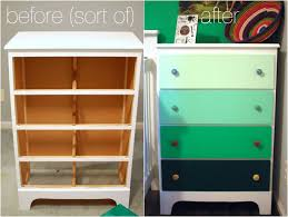 painted baby furniture. Just Paint It! Old Furniture Re-Do | Nursery Project Painted Baby D