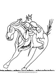 Kleurplaat Paard En De Vogel Kleurplaten Voor Jou