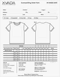 clothing order form template word work order form template fresh t shirt word aslitherair req mychjp