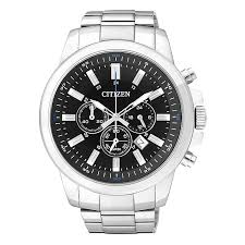 citizen quartz men s round black dial bracelet watch h samuel citizen quartz men s round black dial bracelet watch product number 2341565