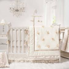 image is loading juliette 4 piece girl crib bedding fl ivory