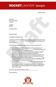 Free Termination Letter Best Termination Of Employment Letter Create A Dismissal Letter Online