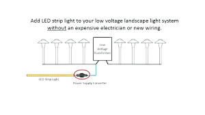 landscape lighting wiring diagram low voltage landscape lighting wire installing led strip lights with your low