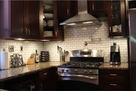 43 Elegant Kitchen Backsplash Decor Ideas With Dark Cabinets