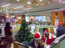 Christmas Office Theme Decoration Ideas Holiday Decorating