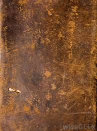 leather that has been treated to age its appearance is referred to as distressed leather