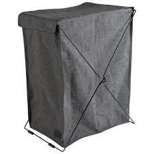 Wäschekorb Melissa 2 Fächer Grau Dänisches Bettenlager