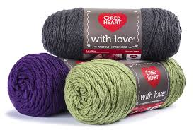 Red Heart With Love Holy Berry Yarn 7 Ounces 370 Yards