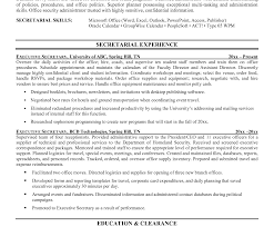 office large size senior. Electronic Cover Letter Good Visualize Nice Format For Executive Secretary Resume Large Size Grant Request Sample Office Senior S