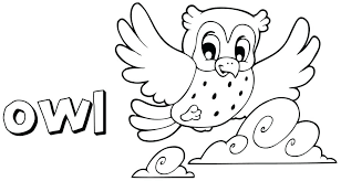 Opulent Ideas Easy Owl Coloring Pages Day Of The Dead Baby Free