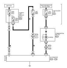 charging car wiring diagram circuit wiring diagram for 2007 nissan 350z coupe charging and starting system