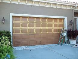 painting garage doorPainting An Over Sized Garage Door  Everything I Create  Paint