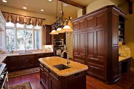 Cabin Kitchens Log Cabin Kitchen Cabinets Monsterlune