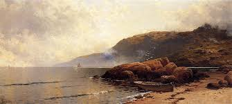 summer day at grand manan alfred thompson bricher oil painting