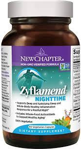 New Chapter <b>Zyflamend Nighttime</b> Supplement, Vegetarian Capsule ...