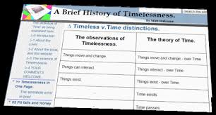 Definition of timeless Fall Fete see u003eu003e Tableoftimelessvtimedistinctions For Detailed Table Of These Distinctions As Compared To The Timeless View Google Sites 2 The Definition Of time As Being Examined Here Brief
