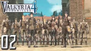 Valkyria Chronicles 4 PC Gameplay Walkthrough Part 2 - Liberation of Reine! - YouTube
