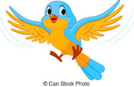 colorful birds flying clipart. Brilliant Flying Flying Bird  Illustration Of Happy Intended Colorful Birds Clipart S