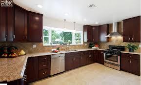 Beech Espresso RTA all wood kitchen and bathroom cabinets rok