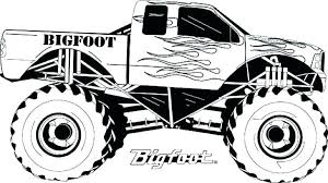 Batman Monster Truck Coloriages Monster Truck 2 Coloring Pages